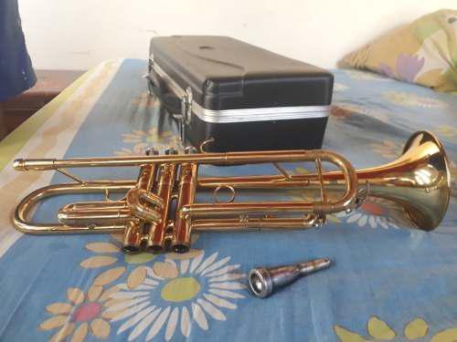 Trompeta maxtone + boquilla #2 y su estuche
