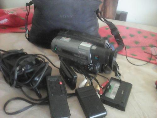 Video camara sony handycam 180x con sus accesorios(repuesto)