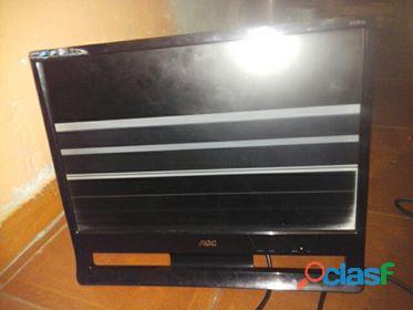 Monitor aoc lcd monitor 481mm producto nombre 913 fw con detalle de 19''