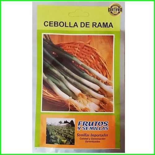 7 sobres de semillas de cebollin nebuka 2 gramos importadas