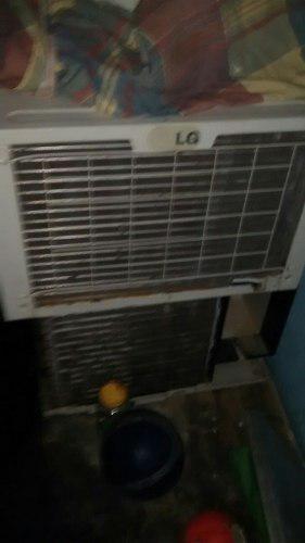 Aire acondicionado 24 btu lg dañado