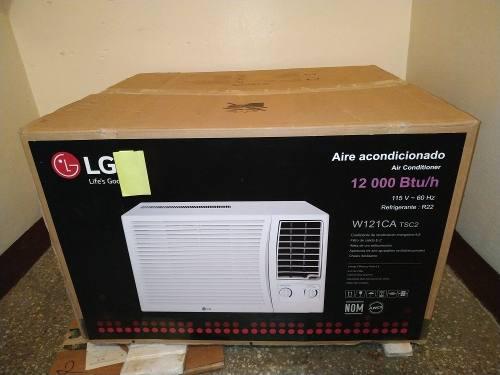 Aire acondicionado de ventana lg 12000btu 110v