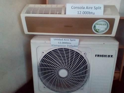 Aire acondicionado split 12000 btu (compresor dañado)