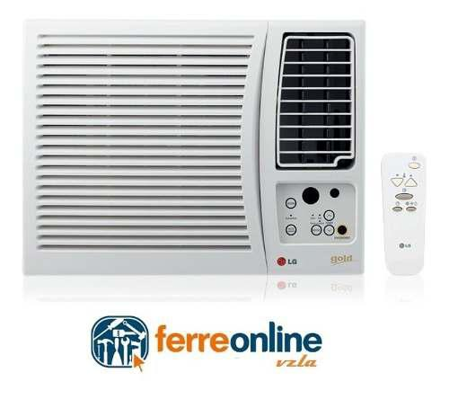 Aire acondicionado ventana lg 8.000 btu con control 110v