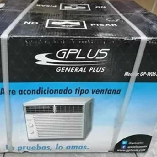 Aire ventana 6000btu 110v gplus