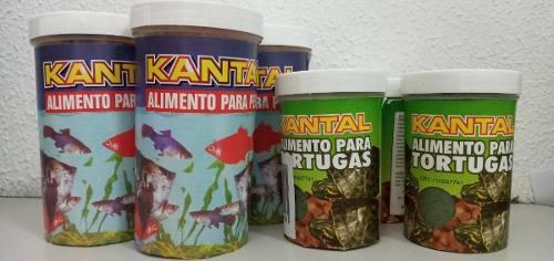 Alimentos peces y tortugas