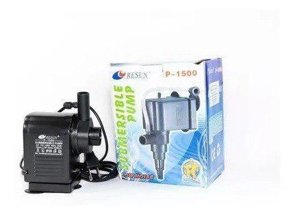 Cabeza poder resun p-1500 1500l/h 1.7m acuario bomba agua