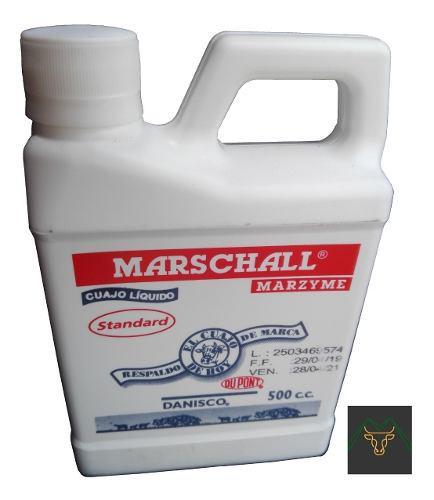 Cuajo marschall para queso 500ml