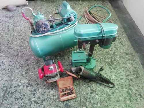 Equipos y herramientas de carpinteria