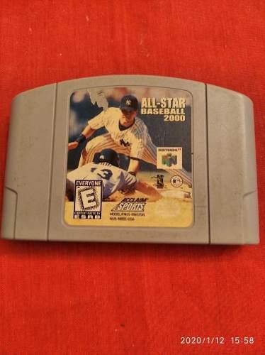 Juego Baseball 2000 Nintendo 64