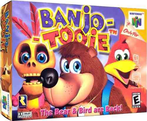Juego Original Banjo-tooie Para Nintendo 64 (30v)