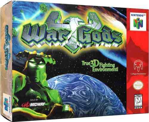 Juego original war gods para consola nintendo 64 (20v)