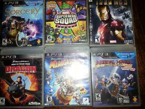 Juegos para playstation 3 usados en excelente estado