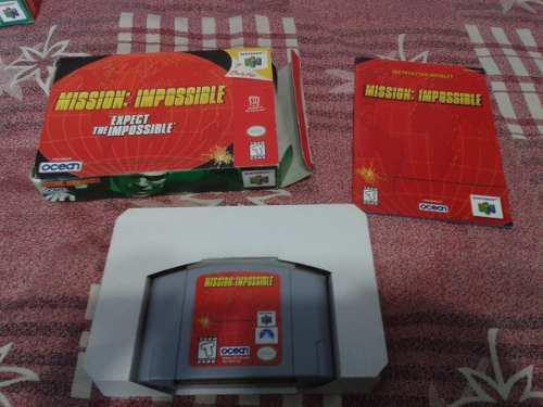 Mission Impossible Para Nintendo 64