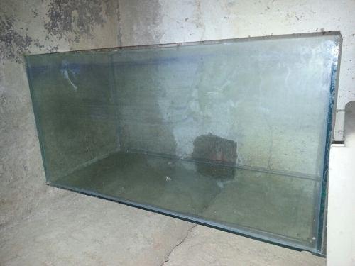 Pecera de vidrio 50 por hoy