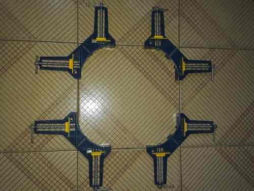 Prensa de esquina de carpinteria de 3 pulgadas