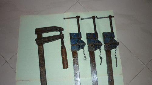 Prensas o sargentos para carpinteria y herreria