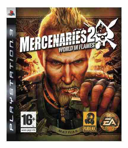 Ps3 mercenaries 2: world in flames playstation 3
