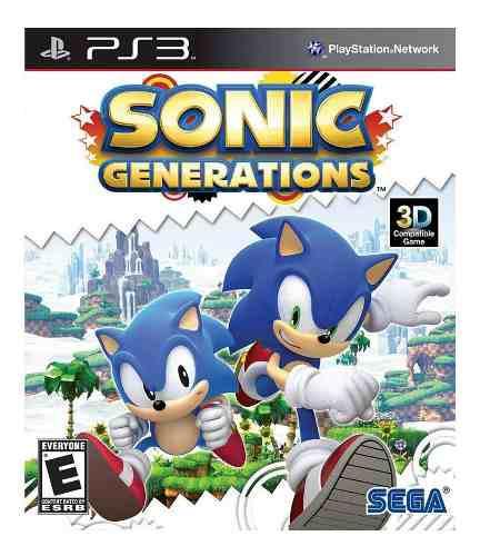 Ps3 sonic generations playstation 3 juego nuevo