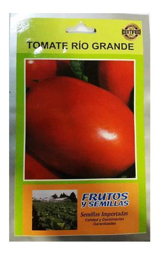 Sobre 7250 semillas de tomate rio grande 25 gramos importada
