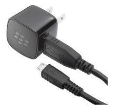 Cargador mini usb blackberry original + cable micro de datos
