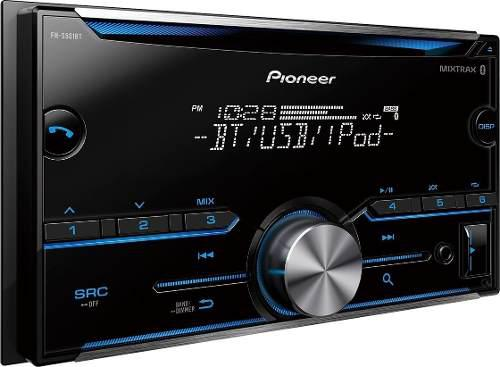 Radio reproductor 2 din pioneer fh-s51bt bluetooth usb