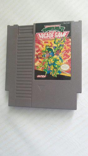 Tortuga ninja juego nintendo nes tortugas juego americano