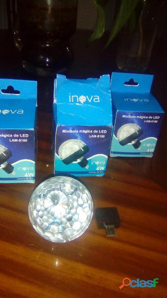 Luces mini discoteca para equipos con puerto usb, micro usb