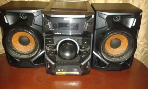 Equipo de sonido sony genezi 2000w