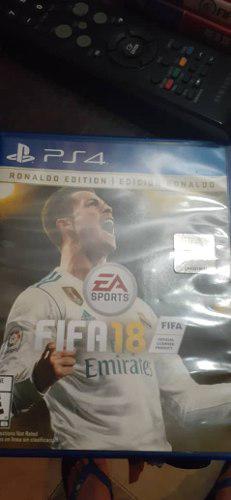 Fifa 18 ps4 juegos play 4 cambio o vendo