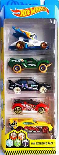 Hot wheels carrito coleccionable 5 pack