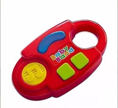 Juguete musical didáctico para bebé baby jeidy rojo
