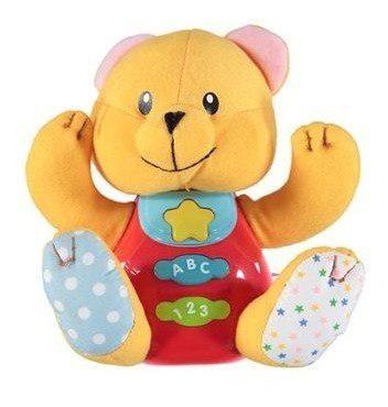 Peluche interactivo sonidos y luces juguete bebes