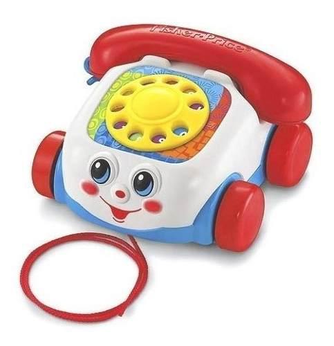 Teléfono de arrastrar chatter telephone fisher price 20