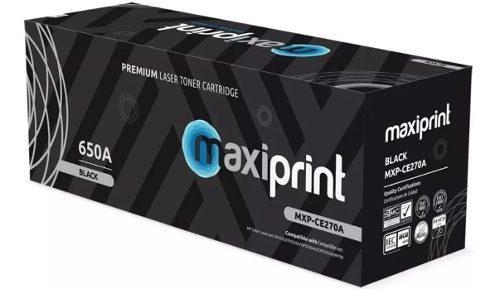 Toner negro maxiprint 650a (mxpce-270a)