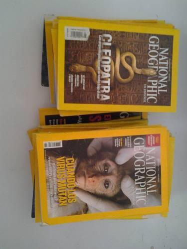37 revistas national geographic ofertón 11 vrds por todas