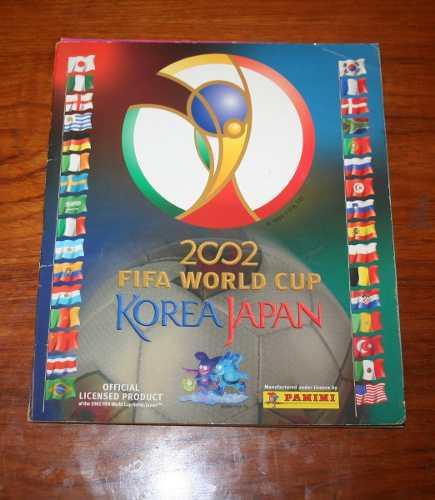 Albúm fifa korea/japón 2002 oferta!