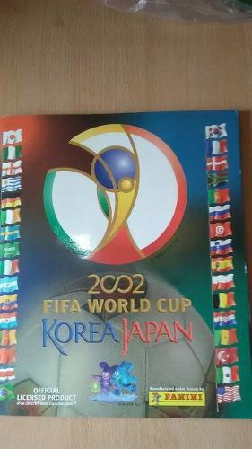 Album panini mundial de futbol korea japon 2002