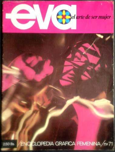 Coleccionable Fascículo Vintage Eva El Arte De Ser Mujer 71