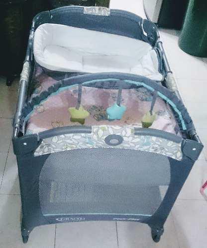 Corral, Cuna Y Cambiador Portátil Para Bebés Graco