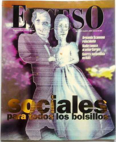 Interesante Revista Exceso Noviembre 1994 Nº 70
