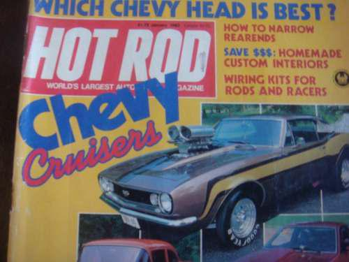 Revista Americana Colecciona Ble Hot Rod Especial De Chevy