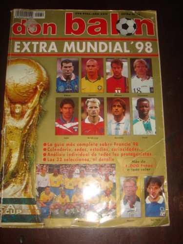 Revista Coleccionable Don Balon Extra Mundial 98