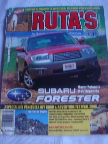 Revista Coleecionable Venezolana Rutas N-57