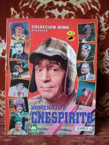 Revista Homenaje A Chespirito (solo 355mil Bs)