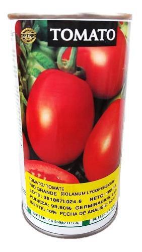 Semillas de tomate rio grande lata de 100 gramos importadas