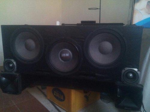 Equipo de sonido para carro o camioneta suena duro y muy bie