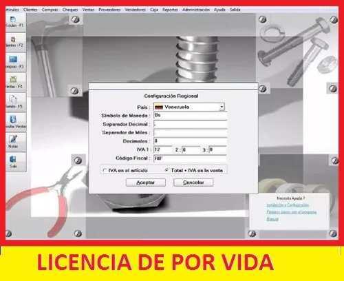 Software de gestion comercial para ferreteria sistema