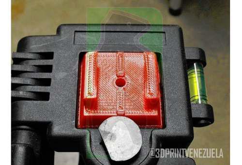 Accesorio adaptador de tripode para gopro