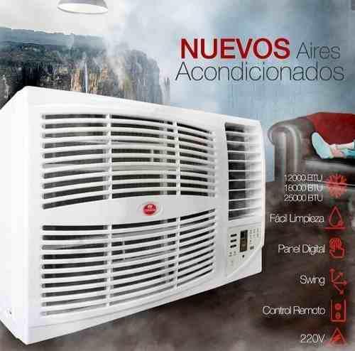 Aires acondicionados ventana 12000btu nuevos con garantía
